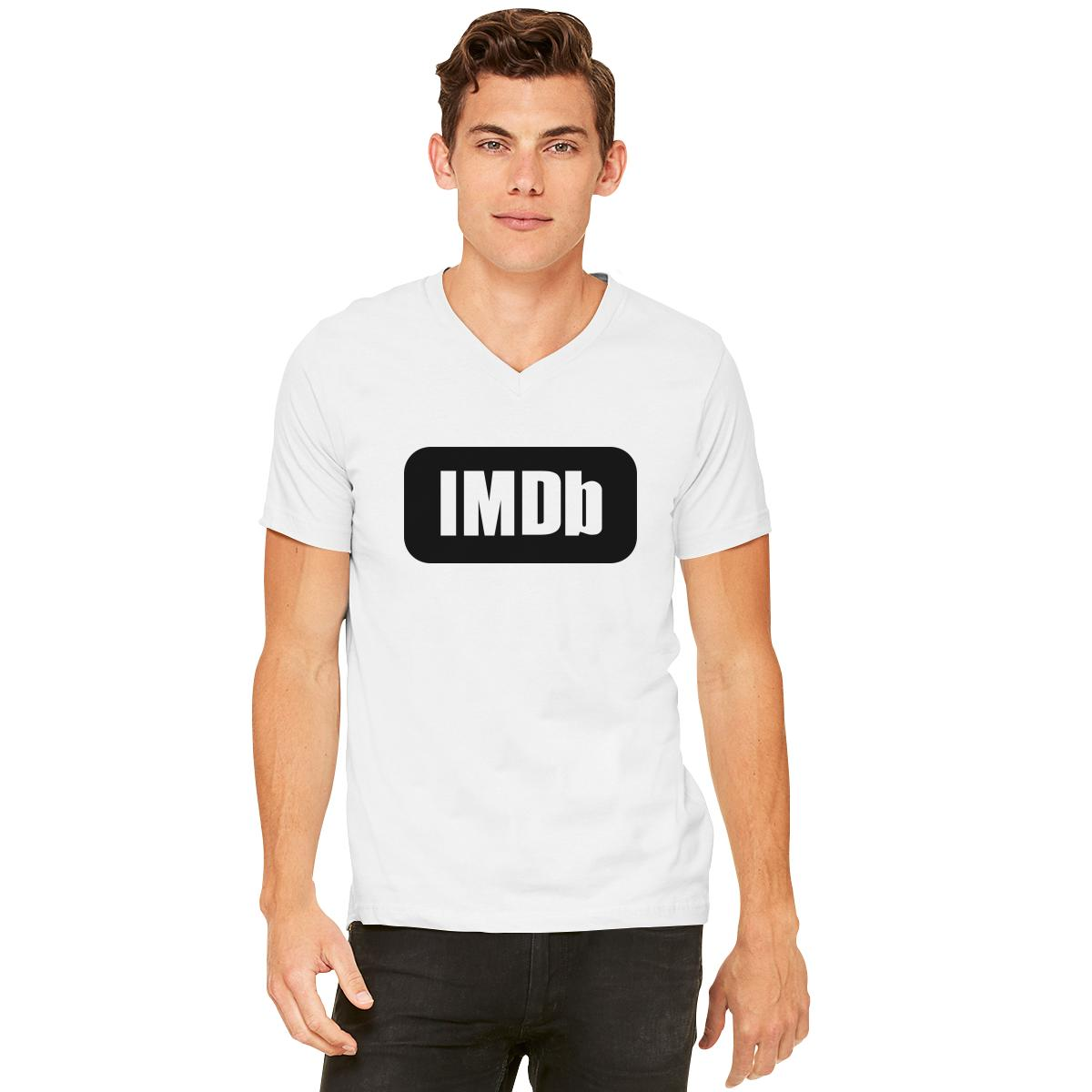 IMDb Logo V-Neck T-shirt | Customon.com
