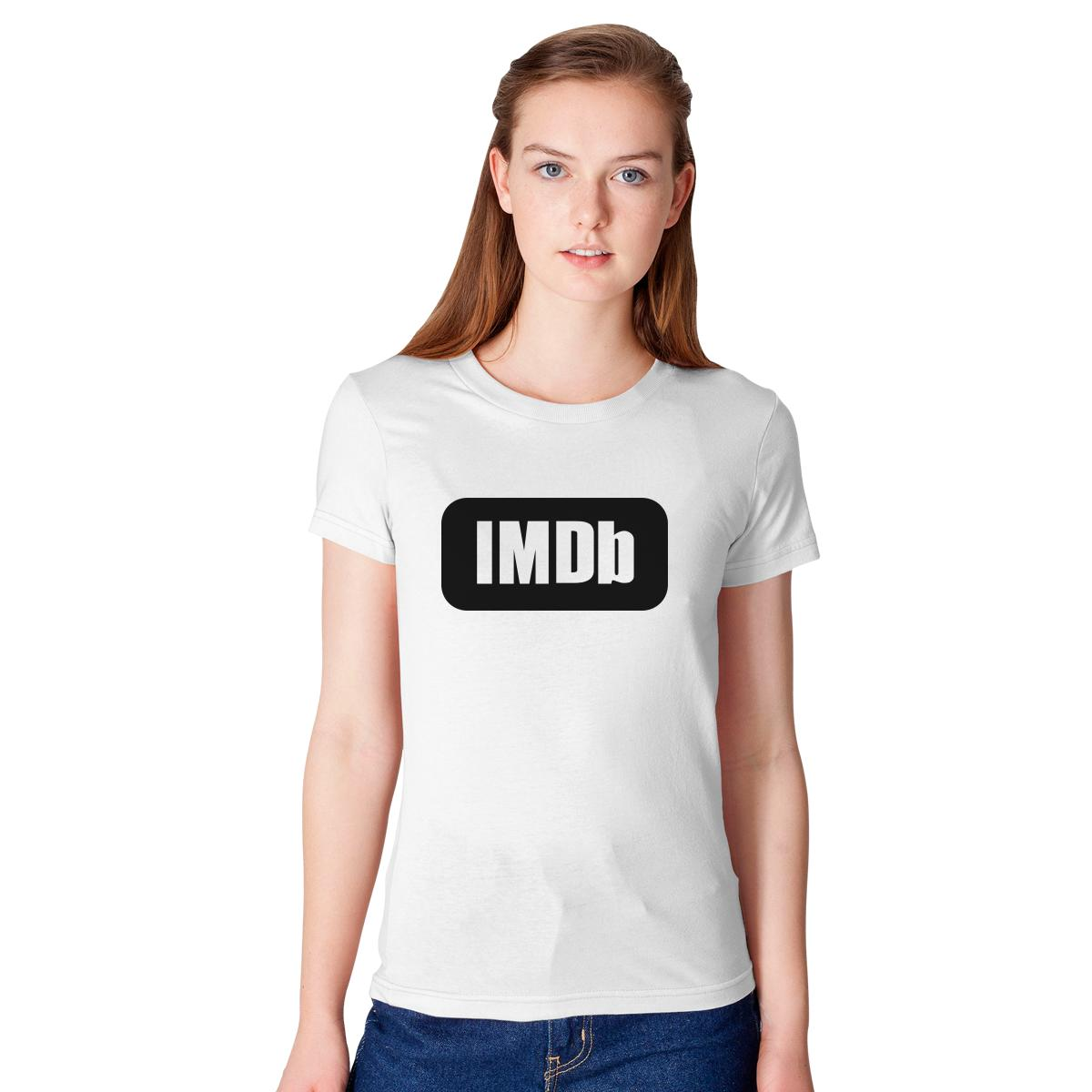 IMDb Logo Women\'s T-shirt | Customon.com
