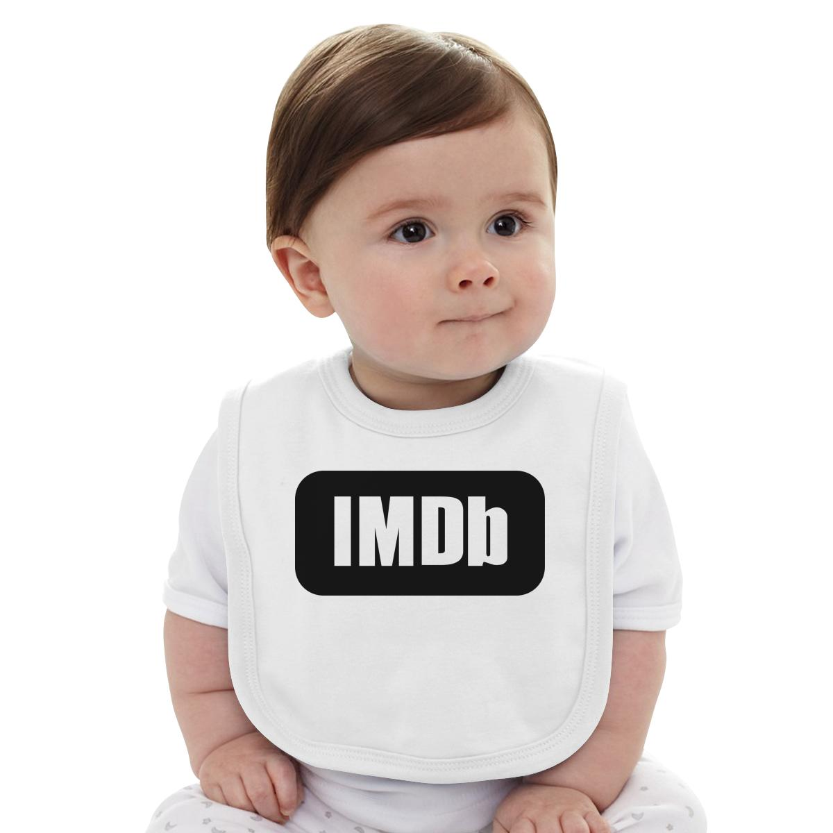 IMDb Logo Baby Bib | Customon.com