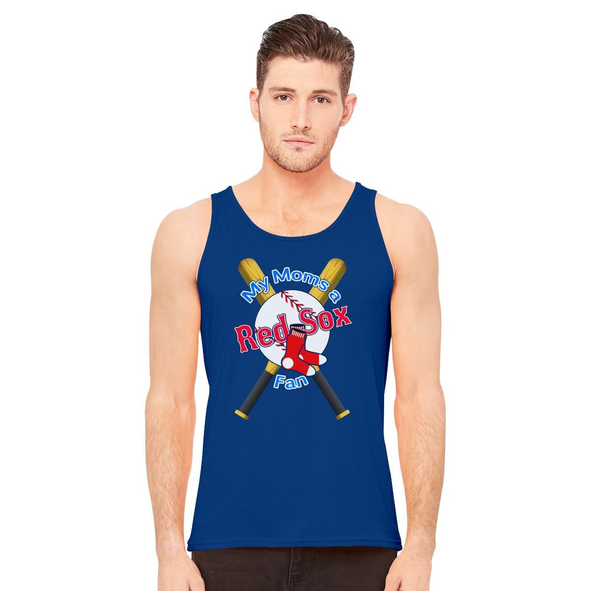 My Moms a Red Sox Fan BoSox Men s Tank Top  e0af5d2587a0