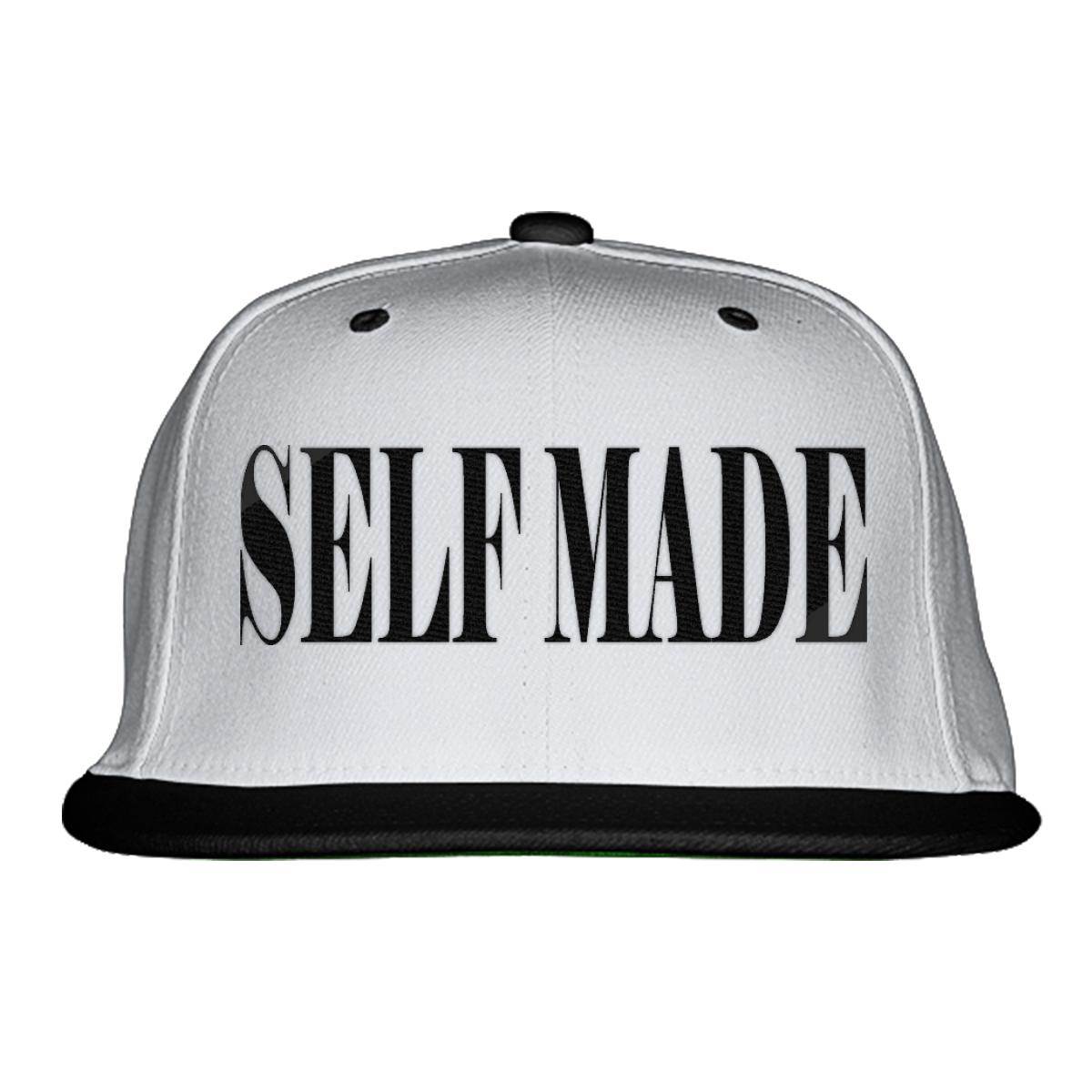 Self Made Snapback Hat - Embroidery +more 7f0cb09b139