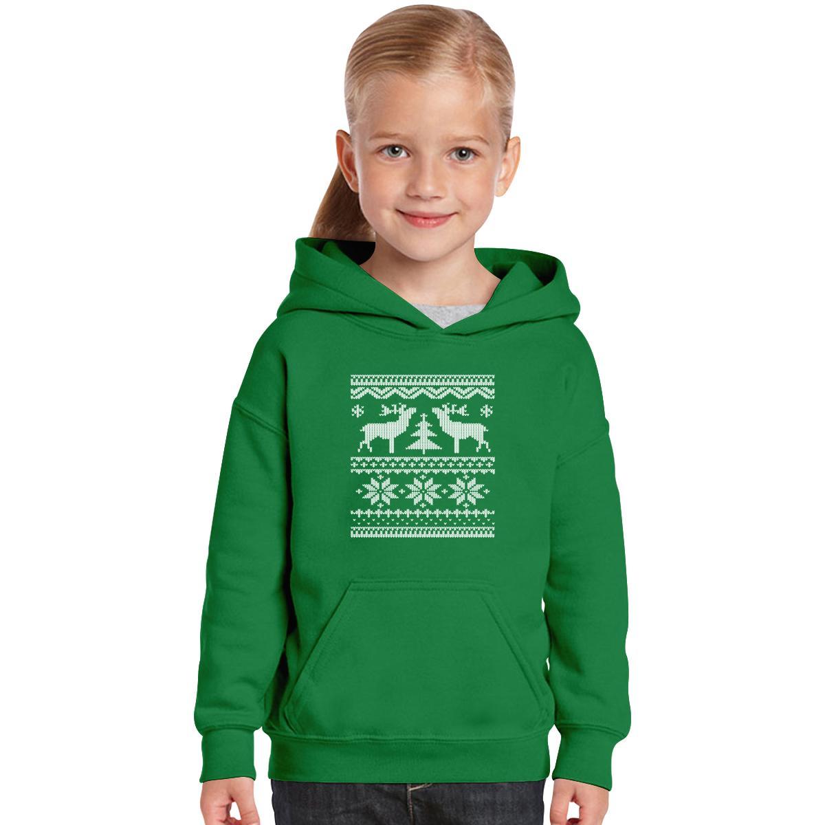 Ugly Christmas Sweater Kids Hoodie   Customon.com