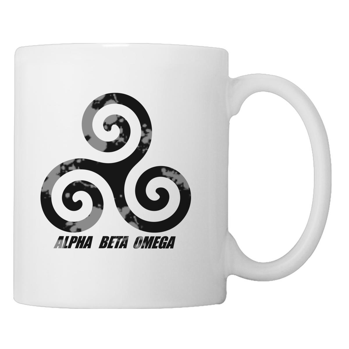 Teen Wolf Alpha Beta Omega Coffee Mug Customon