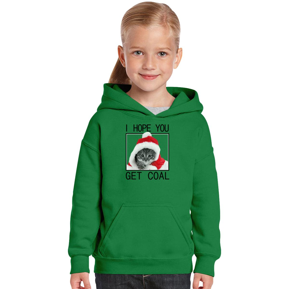 Christmas Get Coal Kids Hoodie | Customon.com
