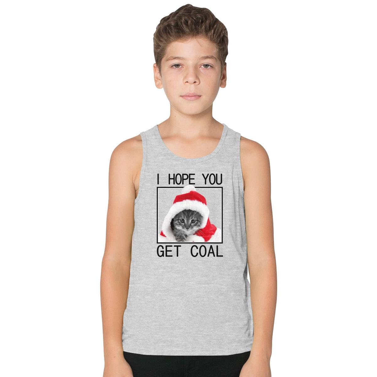 Christmas Get Coal Kids Tank Top | Customon.com