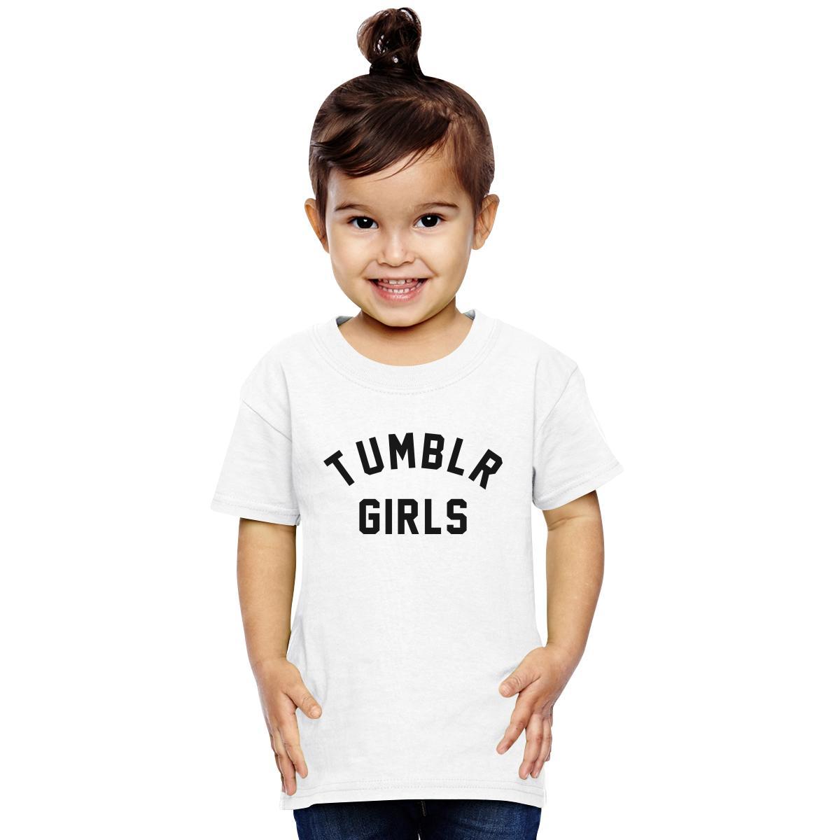Tumblr Girls Toddler T Shirt Customon