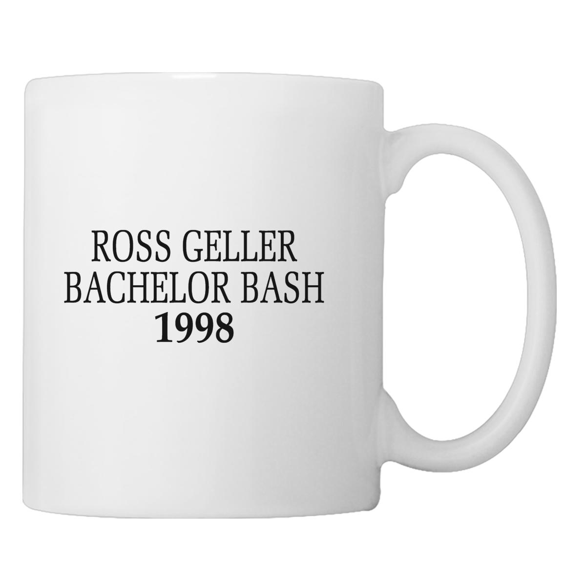 Ross Geller Bachelor Bash 1998 Coffee Mug Cup