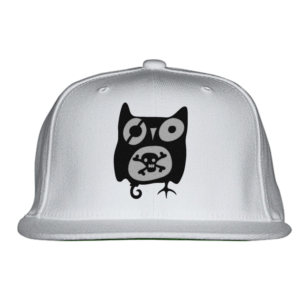 dd5dc32267a Owl with skull snapback hat embroidered jpg 1200x1200 White owl snapback