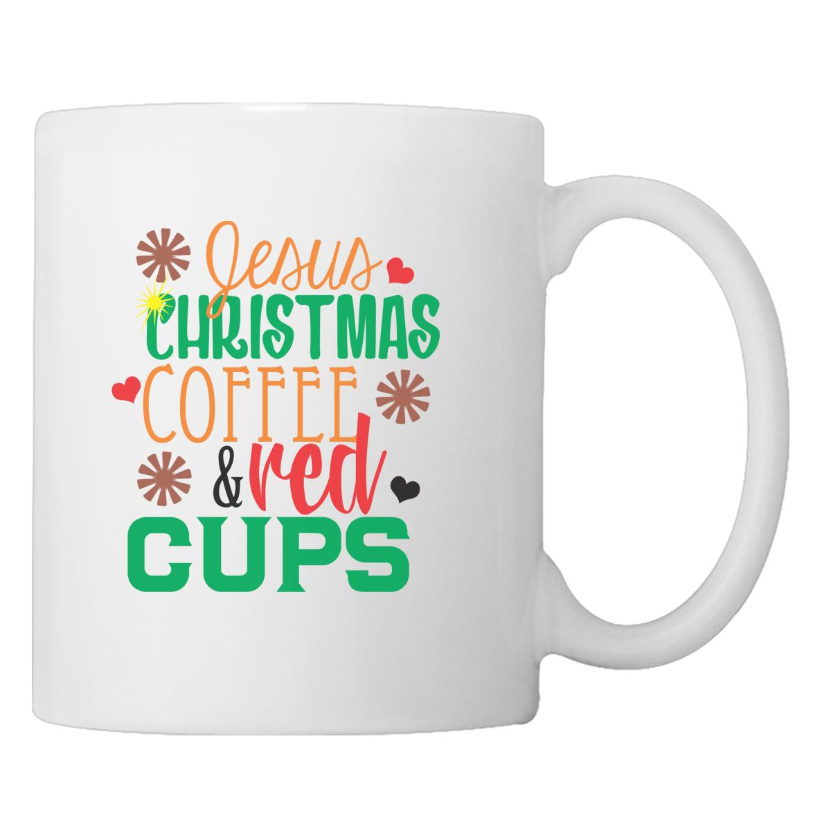 jesus christmas coffee and red cups coffee mug customoncom - Christmas Coffee Cups