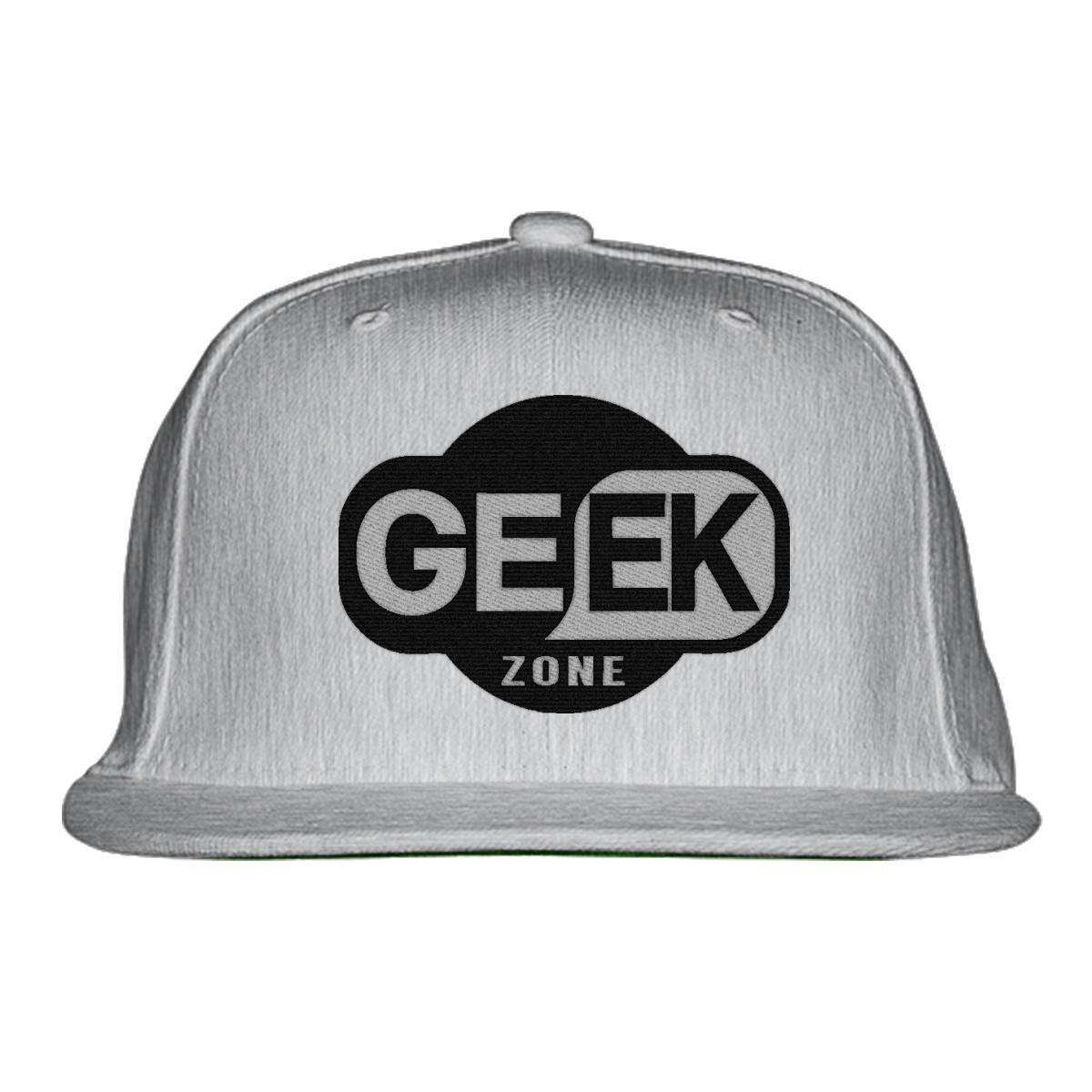 Geek Zone Snapback Hat - Embroidery +more 9b4bf130966